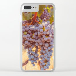 Grapevines 2 Clear iPhone Case
