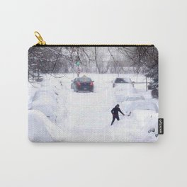 Snowstorm Disaster Carry-All Pouch