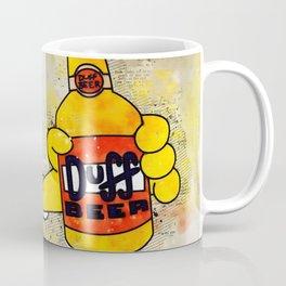 HomerDuff Beer Coffee Mug