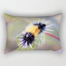 Wooly Brear Caterpillar Rectangular Pillow