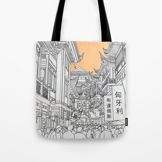 Street in China Tote Bag