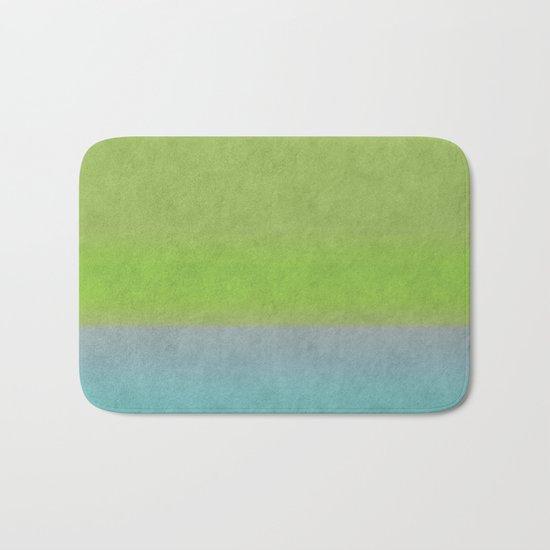 Green greenery greenish Bath Mat