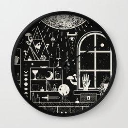 Moon Altar Wall Clock