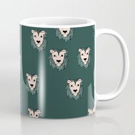 Cool winter safari lion love Coffee Mug
