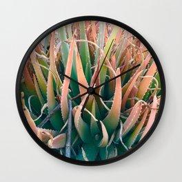 Aloe-lah Wall Clock