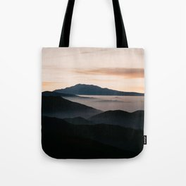 CLOUDY MOUNTAINS Tote Bag
