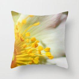 Briar wild rose Throw Pillow