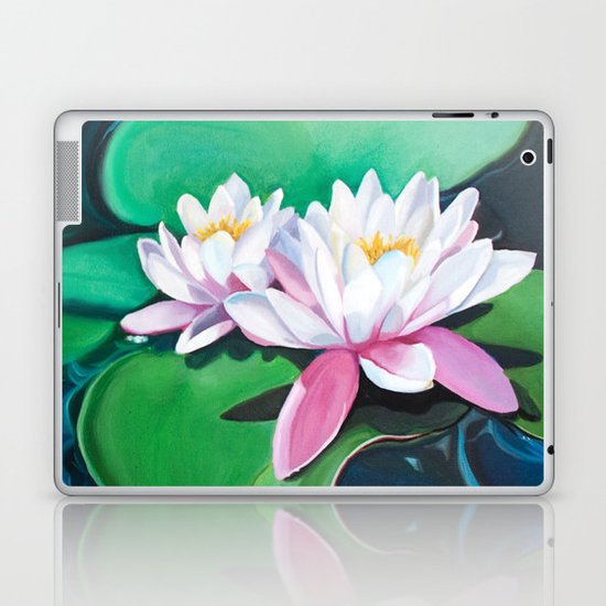 Lilies I Laptop & iPad Skin