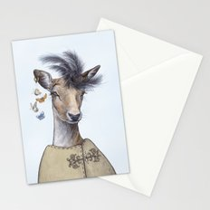 Fashion deer Stationery Cards