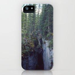 Maligne Canyon 4 iPhone Case