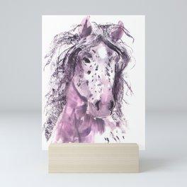 My Pretty Pony in Pink Mini Art Print