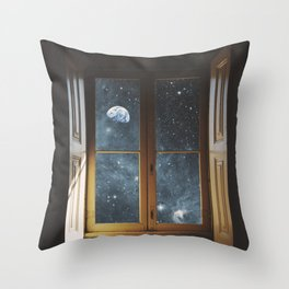 WINDOW TO THE UNIVERSE Throw Pillow