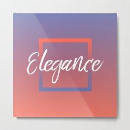 Elegance - Feelings series Metal Print