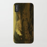 train iPhone & iPod Cases featuring train by MartaSyrko
