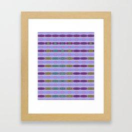 Loops and Hoops Framed Art Print