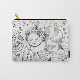Sweet Dreams by Ines Zgonc Carry-All Pouch