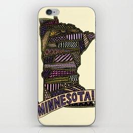 Minnesota! iPhone Skin