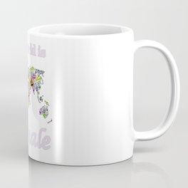 The world is female 2 . Coffee Mug