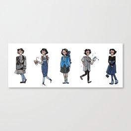 Heathers! Canvas Print
