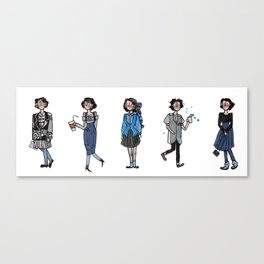 Heathers! Canvas Print