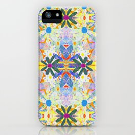 Hippie Garden Party iPhone Case
