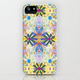 Hippie Garden Party iPhone Case