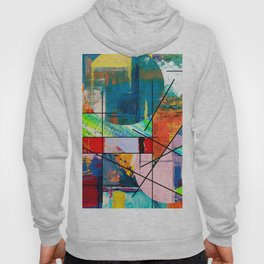 Escape Reality - Abstract Expressionism Hoody