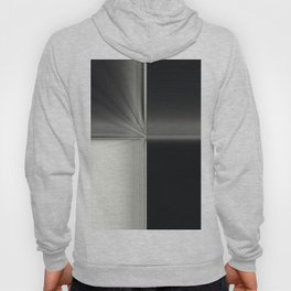 Modern Black White Block Zoom Design Hoody