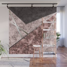 Marble . Combined abstract pattern . Wall Mural