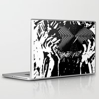 vinyl Laptop & iPad Skins featuring Vinyl by Spew Jersey
