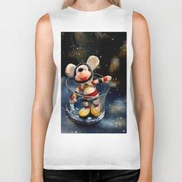 Lost In Space Mickey - Found Again Biker Tank