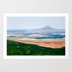 A View of Steptoe Butte Art Print