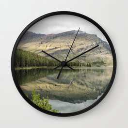 Where the Bears Roam - Many Glacier - Glacier NP Wall Clock