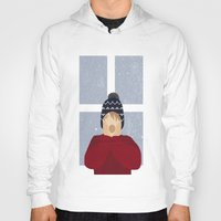 home alone Hoodies featuring Home Alone by Robert Scheribel