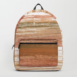 Coconut abstract watercolor Backpack