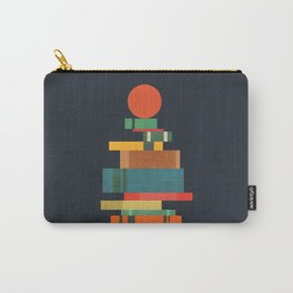 Book stack with a ball Carry-All Pouch