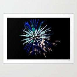 Firework Creations - Tulipfest 23 Art Print