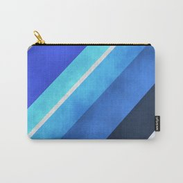 Parallel Blues Carry-All Pouch
