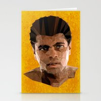 ali gulec Stationery Cards featuring Ali by Patrick Anthony Leverton