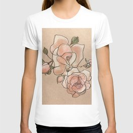 Pink Roses in Bunch T-shirt