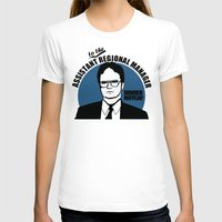 dwight schrute T-shirts featuring Dwight Schrute logo v2 by Buby87
