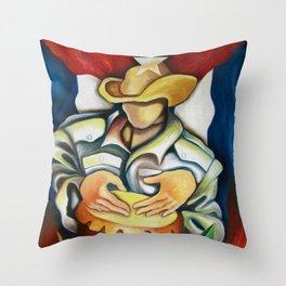100% Cuban Throw Pillow