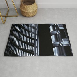 Willis Group and Lloyd's of London Abstract Rug