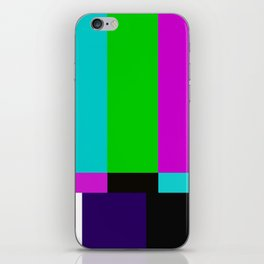 TV bars color testTV bars color test iPhone Skin