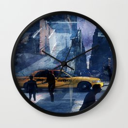 New York as Zombie Town Wall Clock