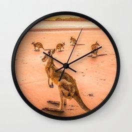 42 Wallaby Bay Wall Clock