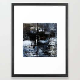 wintry Framed Art Print