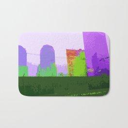 NY#2 Ground Zero, Purple Bath Mat
