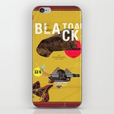 The Black Toad project iPhone Skin