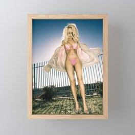 0901 Fashionista Blonde Selena Framed Mini Art Print